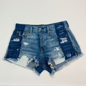 American Eagle Cut Off Festival Shorts
